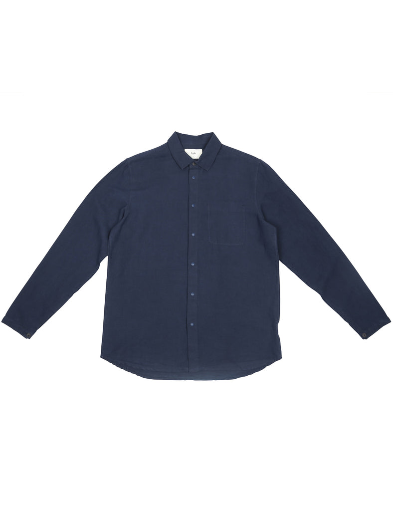 FOLK - stitch pocket shirt