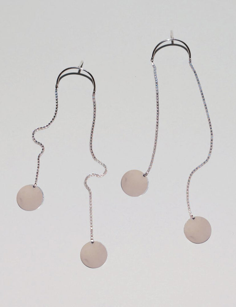 SASKIA DIEZ - Pailettes Earrings Dancing