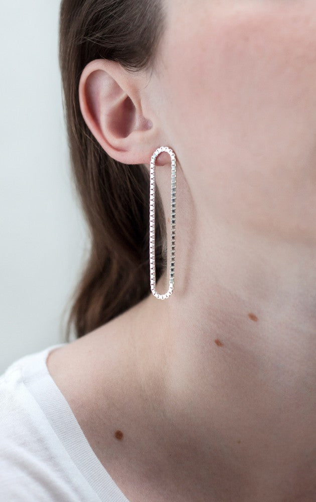 SASKIA DIEZ - Loop Earrings Long