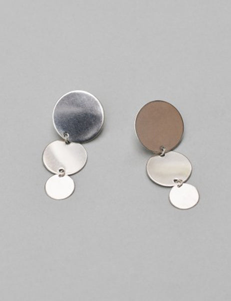 SASKIA DIEZ - Paillettes Earrings triple