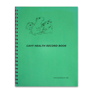 Cavy Health Record Book - KMS Hayloft