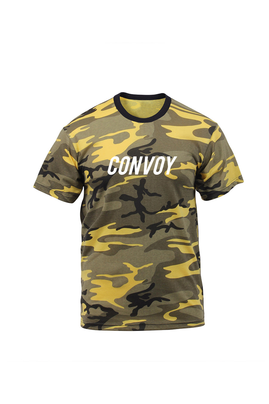 Camo T-Shirt - Yellow – Convoy Clothing Co d3490a18f99