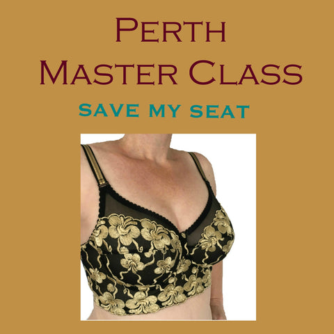 Perth Master Class - Save My Seat!