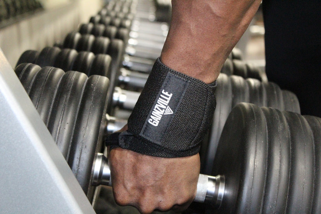 WeightLifting Wrist Wraps & Lifting Straps Combo