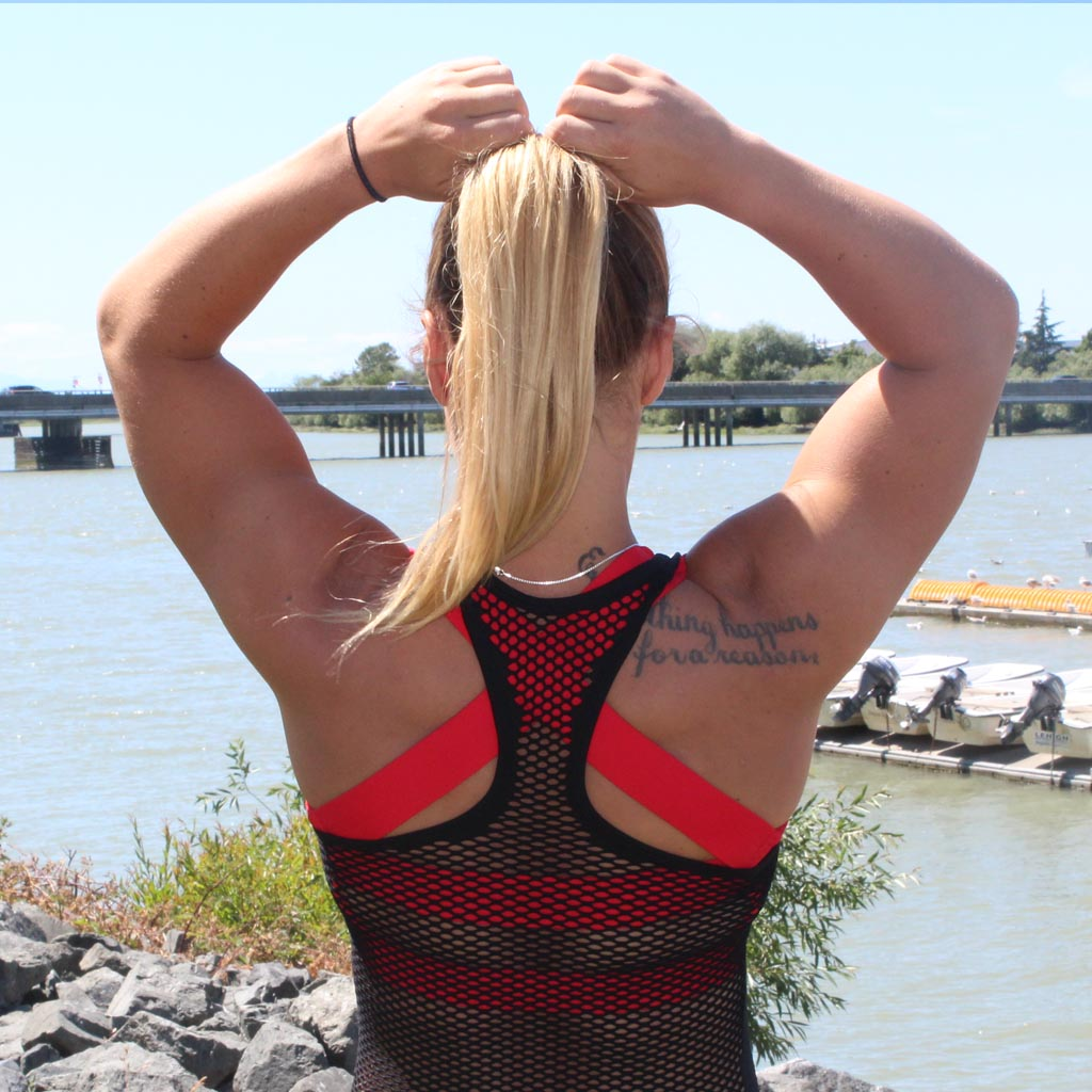 Gainzville Women's Mesh Athletic Top
