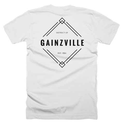Gainzville Diamond workout tee (Double Sided)