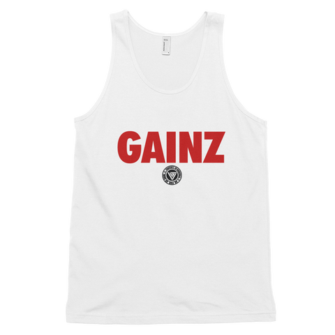 Respect my Gainz Tank Top (Men)