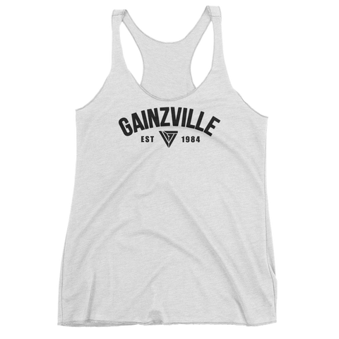The Original Gainzville Women's racerback tank