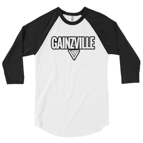 Gainzville Flagship 3/4 sleeve raglan shirt