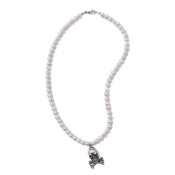 Skull & Pearl necklace (limited)