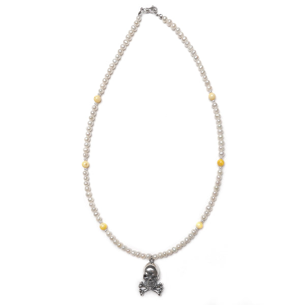 The Lemonhead Pearl Necklace (1 of 1)
