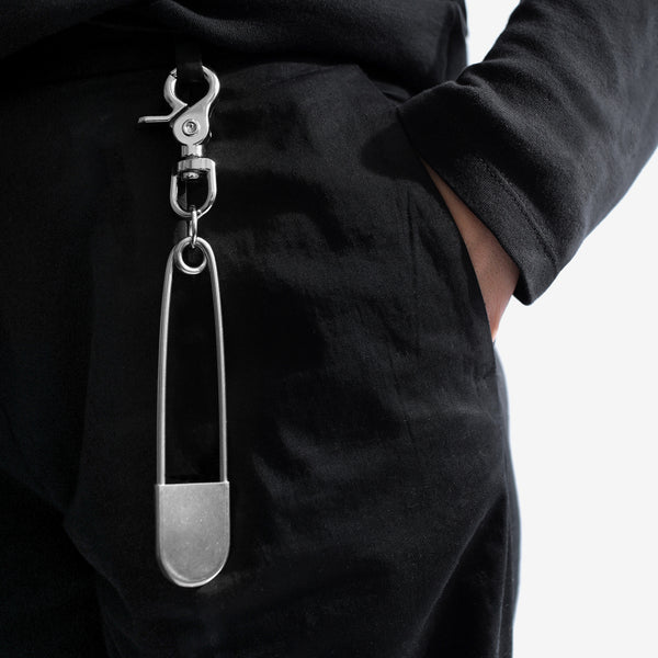 Safety Pin Keychain