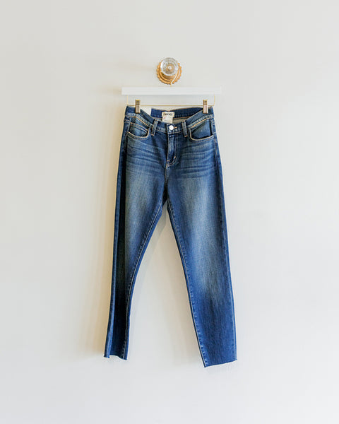 L'agence Sada Cropped Slim Fit Jean in Utica