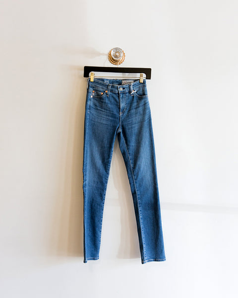 AG Jeans Mari Straight Leg 15 Years Interject