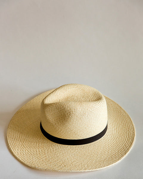 Janessa Leone Gloria Hat in Cream