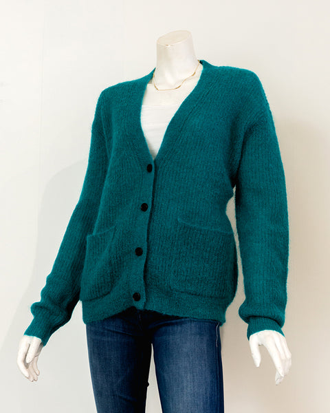 DEMYLEE Valery Cardigan in Bright Teal