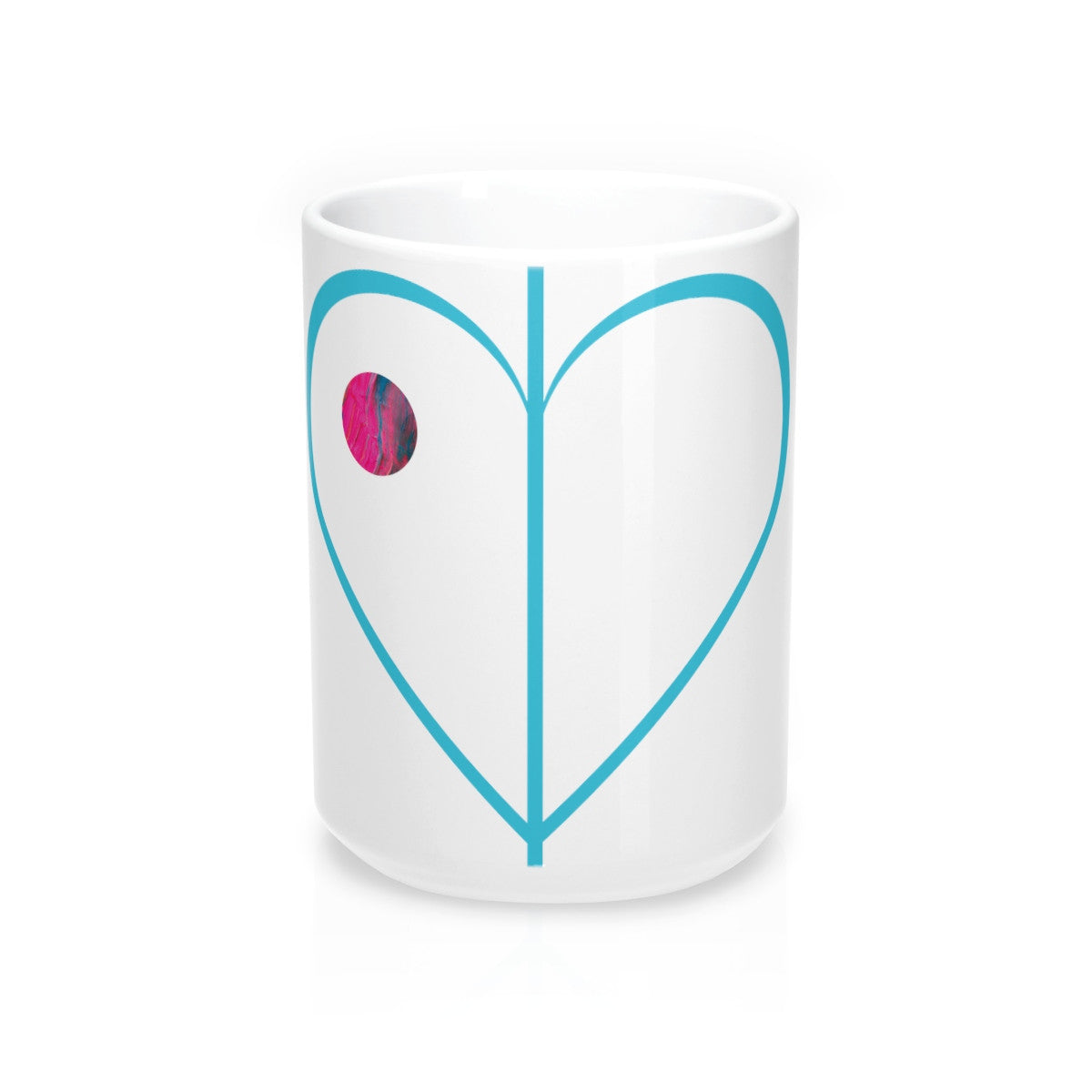 "The Bigger ""Pour Your Heart Out"" Mug"