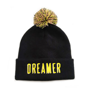 Load image into Gallery viewer, Dreamer Pom Pom Beanie - Salty Little Bums