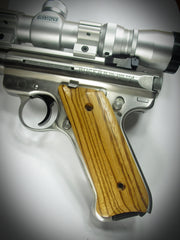 Wood Ruger Mark II/III Grips