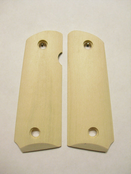 Unfinished Maple 1911 Grips (Compact)