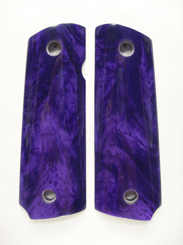 Purple Pearl 1911 Grips (Compact)