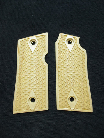 Dragon Scale Maple Colt Mustang Pocketlite Grips