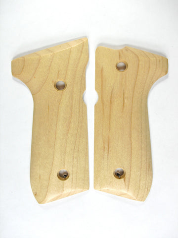 Maple Beretta 92fs Grips