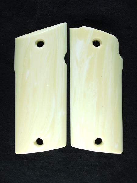Faux Ivory Coonan Compact .357 Grips