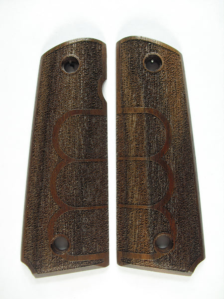 Grip Tape Texture #1 Walnut 1911 Grips (Full Size)