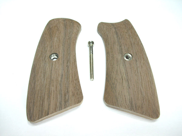 Unfinished Walnut Ruger Gp100 Grip Inserts