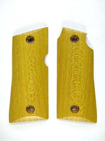 Hedge/Osage Orange Colt Mustang Pocketlite Grips