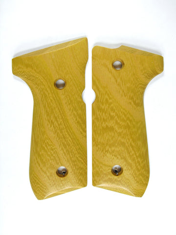 Hedge/Osage Orange Beretta 92fs Grips