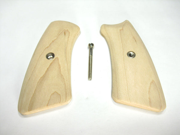 Unfinished Maple Ruger Gp100 Grip Inserts