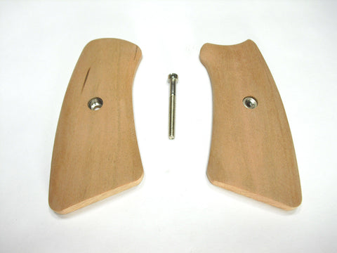 Unfinished Cherry Ruger Gp100 Grip Inserts