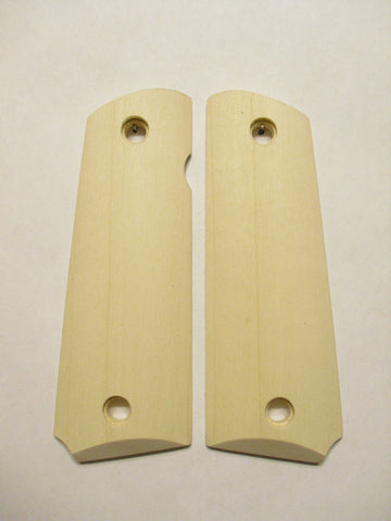 Unfinished Maple 1911 Grips (Full Size)