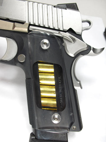 Clear 1911 Grips (Compact)