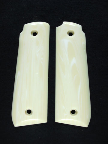 Faux Ivory Ruger Mark IV 22/45 Grips