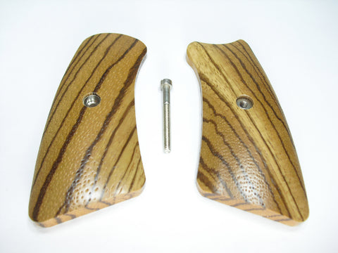 Zebrawood Ruger Gp100 Grip Inserts