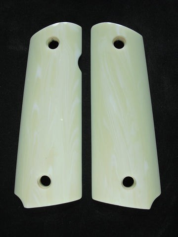 Faux Ivory 1911 Grips (Full Size)