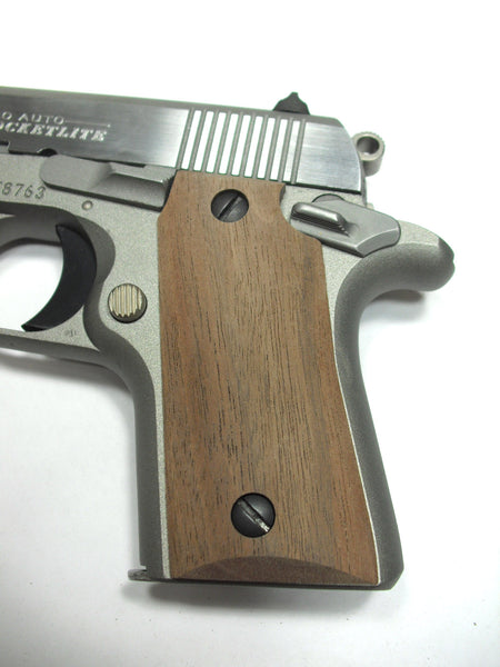 Unfinished Walnut Colt Mustang Pocketlite Grips