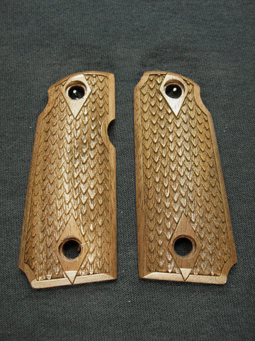 Dragon Scale Walnut Kimber Micro 380 Grips