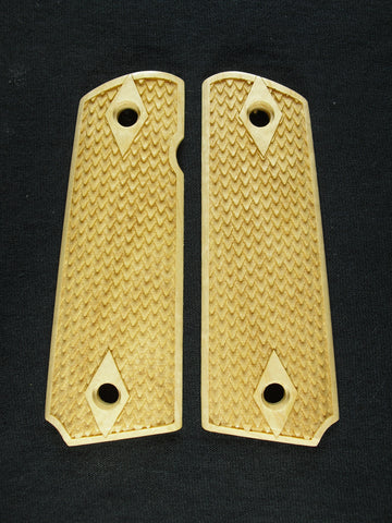 Dragon Scale Maple 1911 Grips (Full Size)