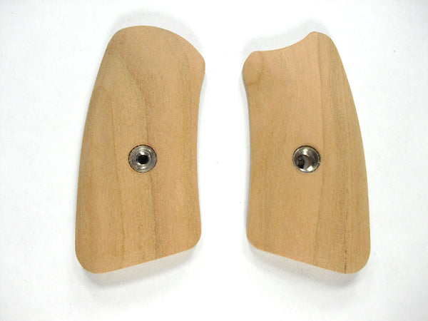 Unfinished Cherry Ruger Sp101 Grip Inserts