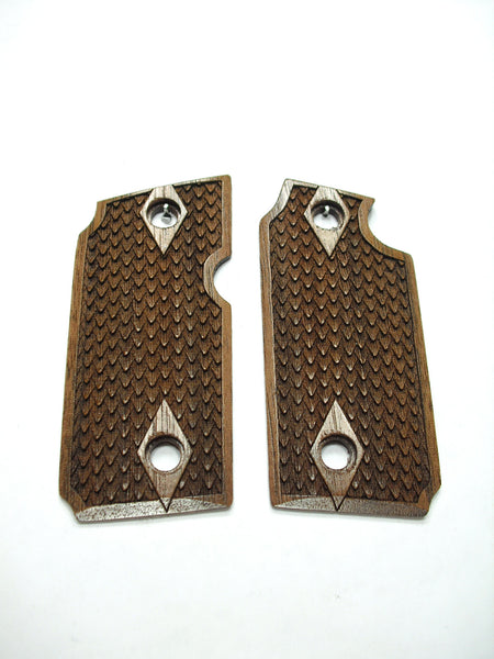 Dragon Scale Walnut Sig Sauer P238 Grips