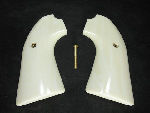 Faux Ivory Ruger Vaquero Bisley Grips
