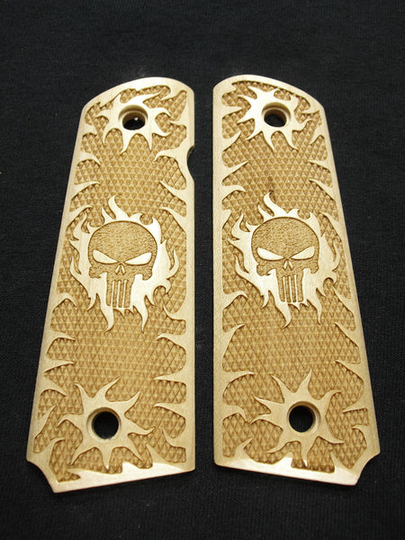 Punisher Maple 1911 Grips (Full Size)
