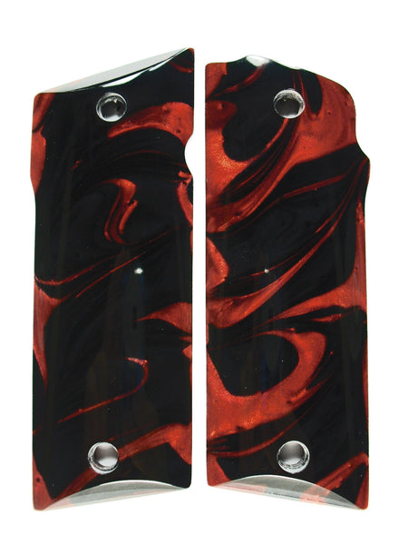 Black & Red Pearl Coonan .357 Grips
