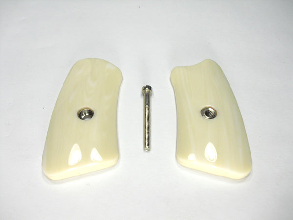 Faux Ivory Ruger Sp101 Grip Inserts