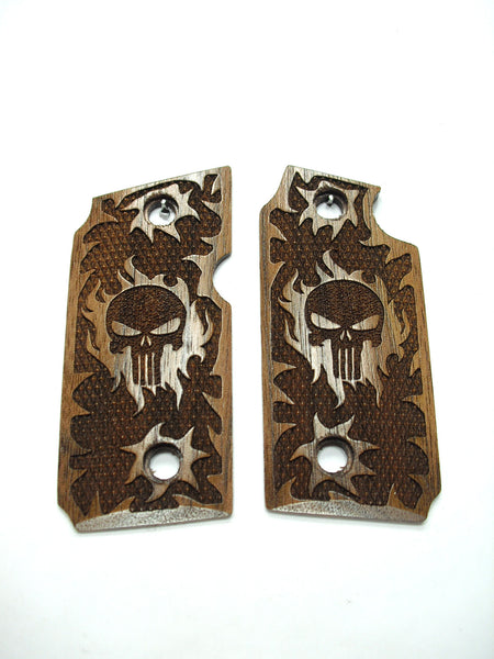 Punisher Walnut Sig Sauer P238 Grips