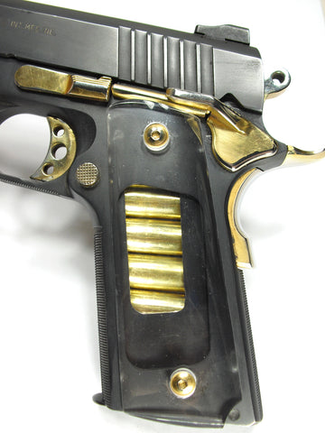 Clear 1911 Grips & Modified Magazine (Full Size)
